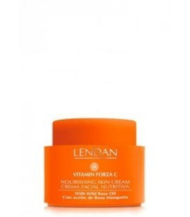 Crema Facial Nutritiva Vitamin Forza C Lendan