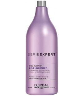 Shampooing Cheveux Secs, L'oréal Liss Unlimited 1500Ml