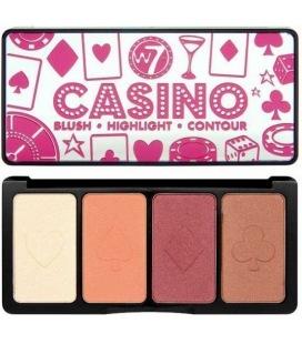 W7 Palette de maquillage le Casino