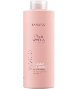Wella Invigo Cool Blonde Shampooing 1000ml