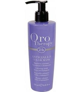 Fanola Oro Therapy Couleur De Masque Anti Jaune