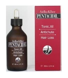 Aidha Khler Pentacidil Tonique.Xil anti-Perte de cheveux 100 ml