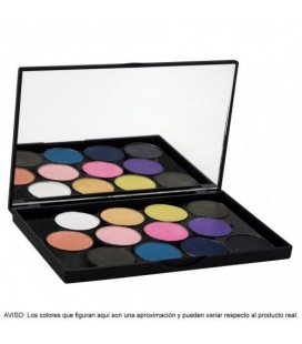 Stage Line Sphere Eye Shadow Palette 12 Pearl Shades
