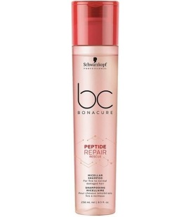 Schwarzkopf Bc Peptide Repair Rescue Shampooing Micellaire 250ml