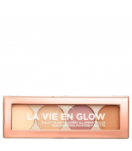 L'Oréal La Vie En Glow Palette Highlighter Cool Glow 02