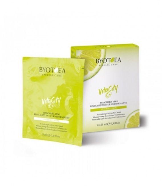 Byotea Mascarilla Vitamina C Revitalizadora 6x15ml