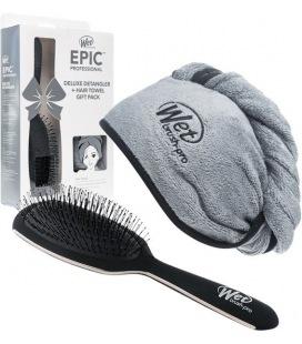 Humide Épique De Luxe Démêlant + Cheveux Serviette Pack