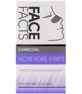 Pretty Face Facts Charcoal Nose Pore Strips