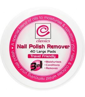 Classiques Nail Polish Remover 40 Plaquettes De Grande