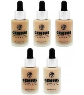 W7 Genius Feather Light Foundation Make-up-Grundlage