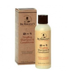 Dr Miracles Tingling Shampoo & Conditioner 177,6 ml