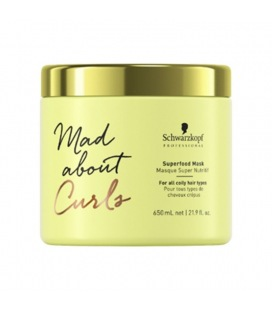 Schwarzkopf Mad About Curls Mask Superfood 650ml