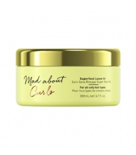 Schwarzkopf Mad About Curls Superfood Leave-In Traitment 200 ml